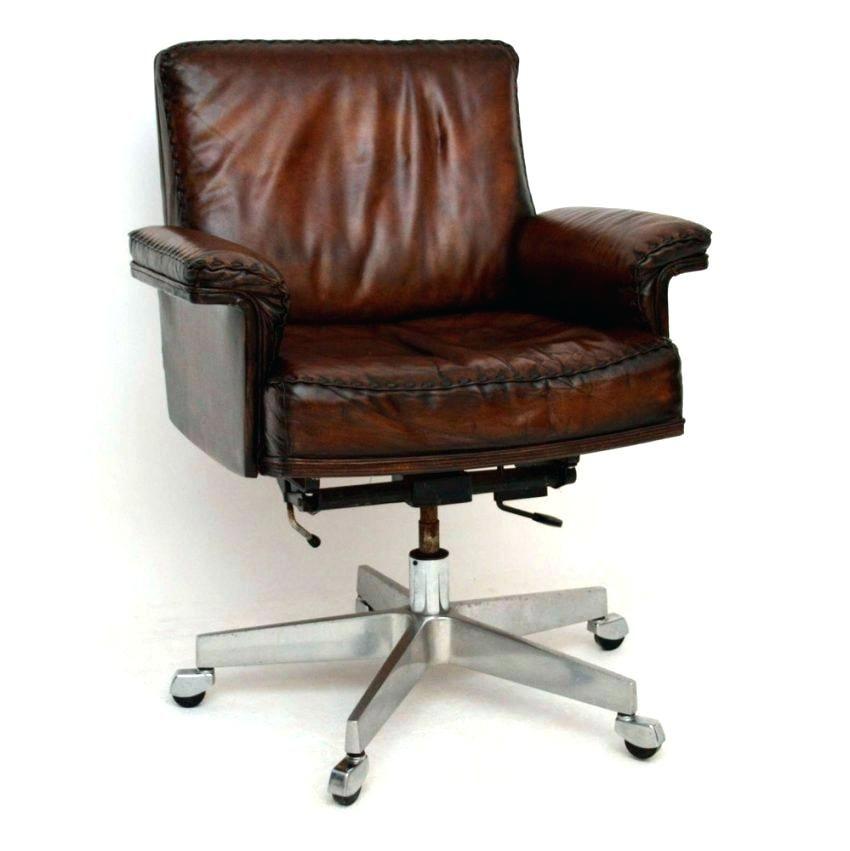 Vintage Desk Chair Leather Antique Leather Office Chair Home Decoration For Vintage Desk Full Image Brown Antique Leather Office Chair Retro Brow Ev Plani Evler