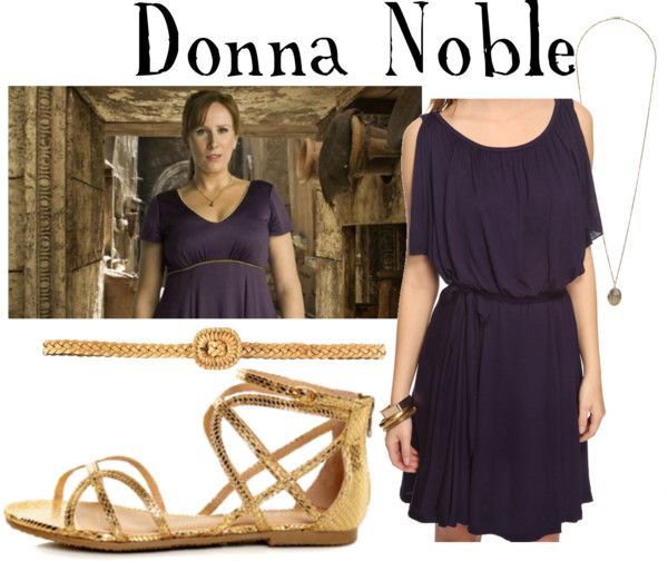 """Donna Noble"" by companionclothes ❤ liked on Polyvore"