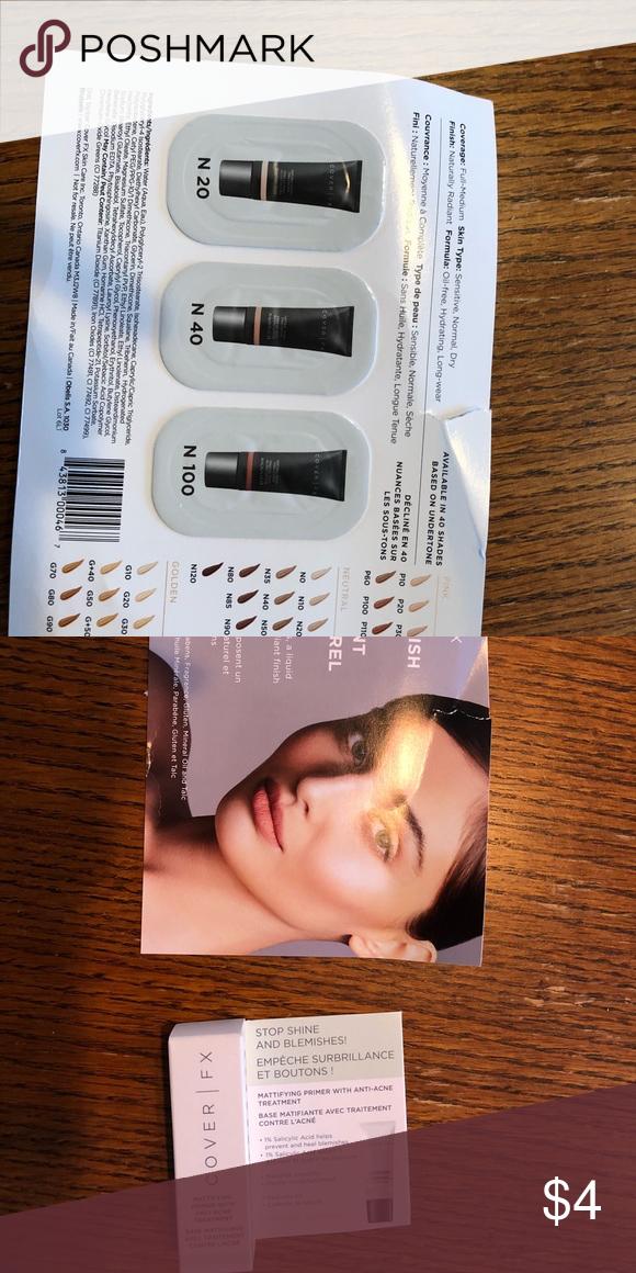 Sephora samples   Cover fx, Sephora and Fe