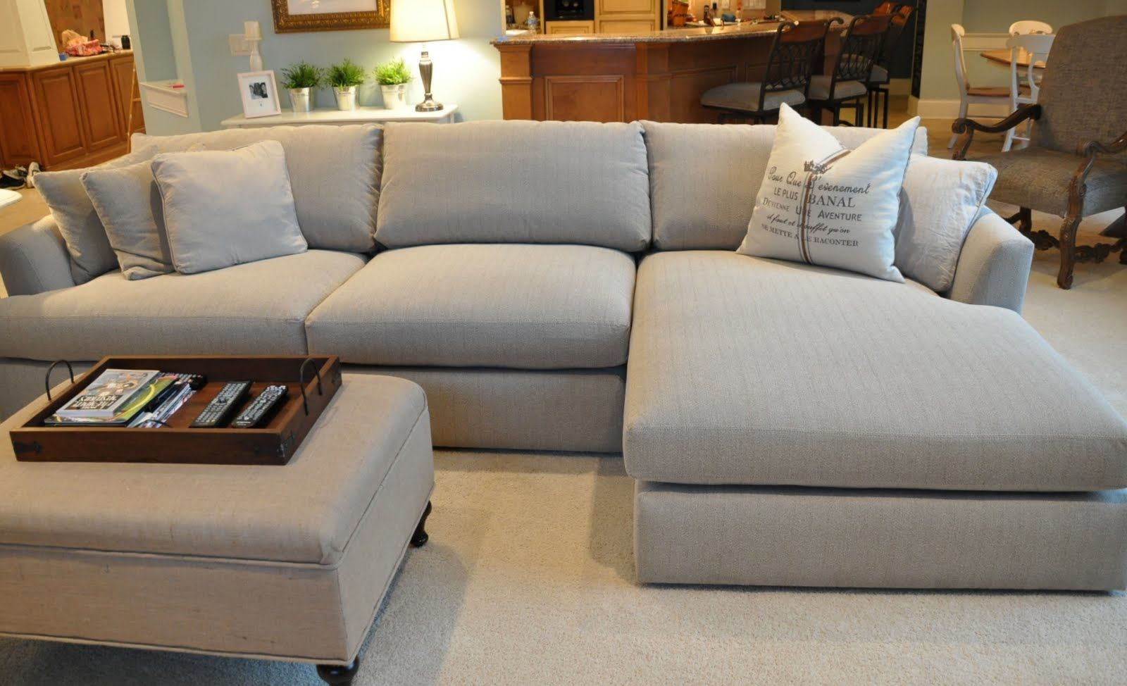 Deep Cushion Sectional Sofas In Case Your Room Is Too Small Even