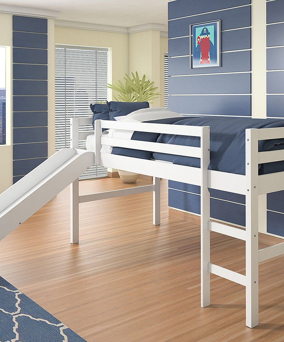Take a look at this White Pine Loft Bed & Slide today