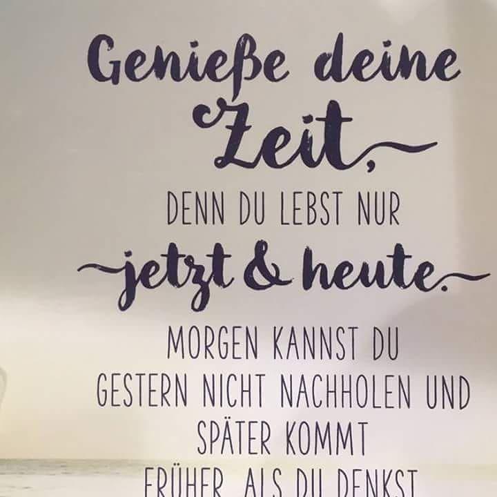#zeit#genießen #träumen#verwirklichen#leben (mit Bildern ...
