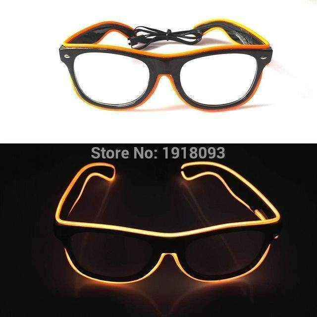 Bright Glasses 26 Style Flashing El Wire Novelty Lighting Neon Led ...