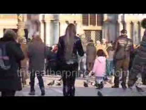 FULL PVC VINYL OUTFIT in Venice Italy - YouTube