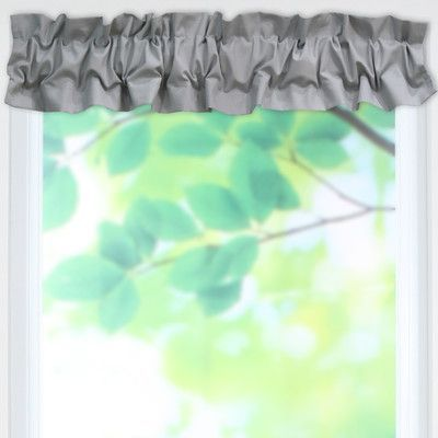 Brite Ideas Living Solid Sleeve Topper 52 Curtain Valance Color