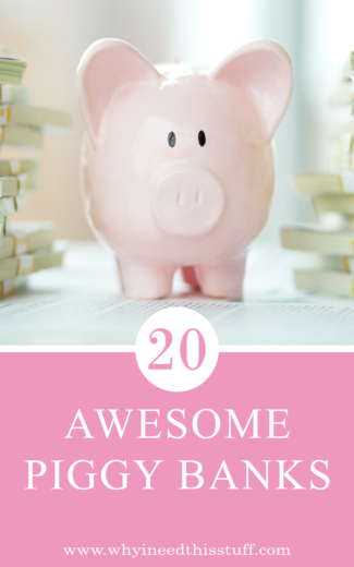 Sponsored 20 Coolest Piggy Banks For Kids And Adults Unique