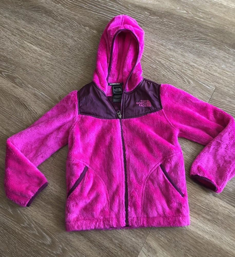 The North Face Fleece Jacket Kids Girl Size Xs 6 Pink Purple North Face Fleece Jacket North Face Fleece North Face Resolve Jacket [ 1000 x 915 Pixel ]