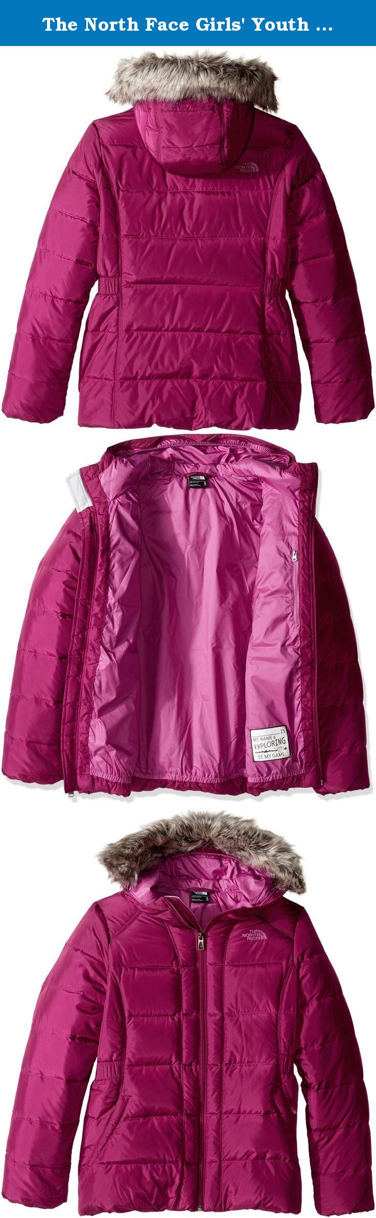ecb10ba1a20c The North Face Girls  Youth Gotham Down Jacket (Sizes S - XL ...