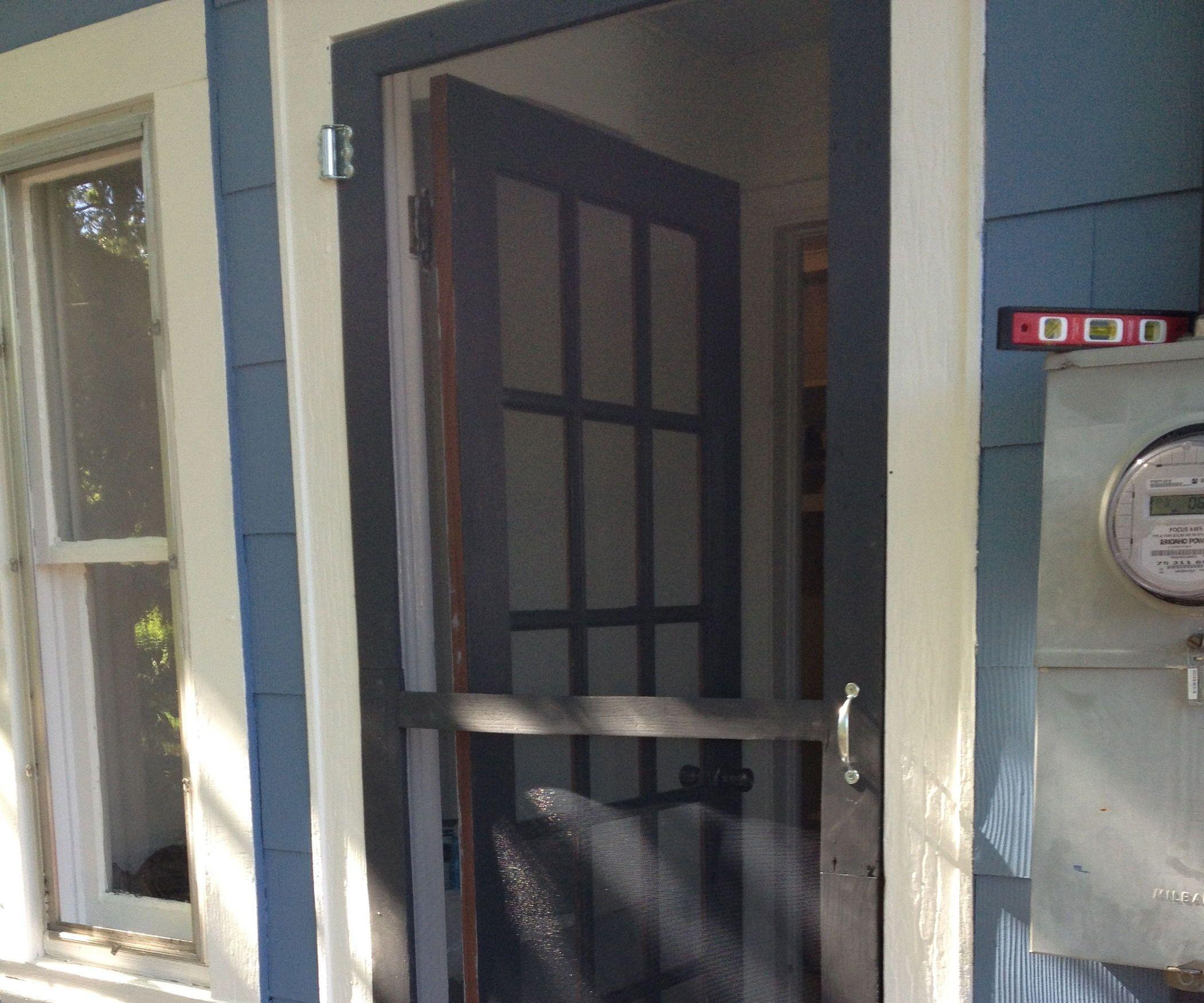 Pallet Screen Door Diy Screen Door Wood Screen Door Wood Pallets