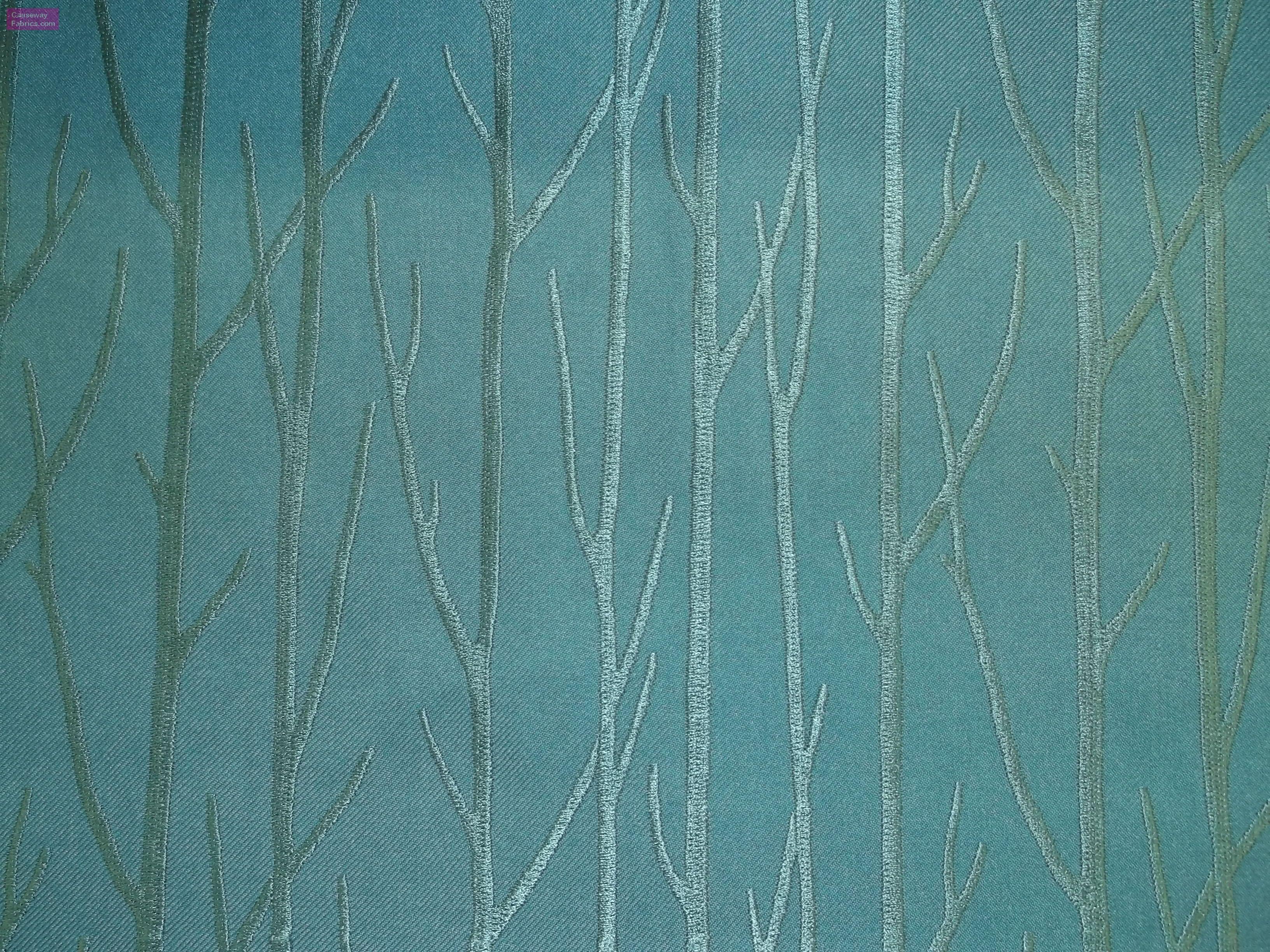 Ashley Wilde Enchant Teal - Custom Curtain Fabric. For the living ...