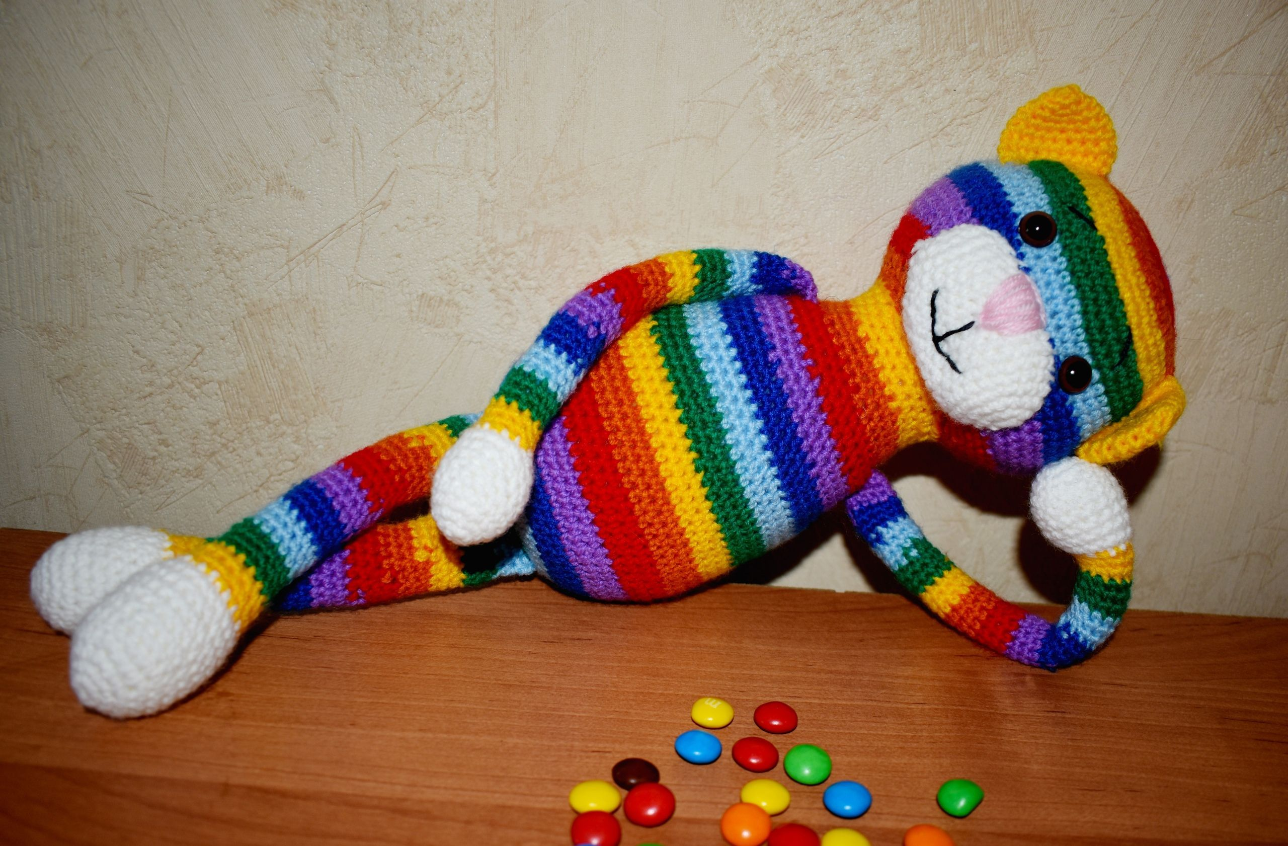 Large Ami Cat Crochet Pattern Crochet Patterns Crochet Cat