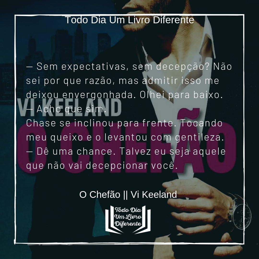 O Chefão || Vi Keeland | Frases marcantes de livros