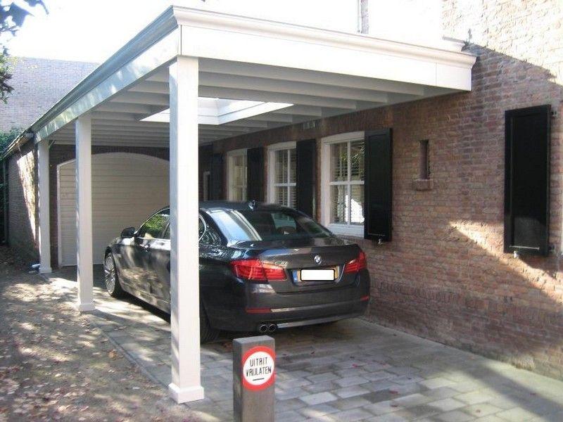 Garage Met Carport : Carport van hout met sierlijst home ideas pinterest garage