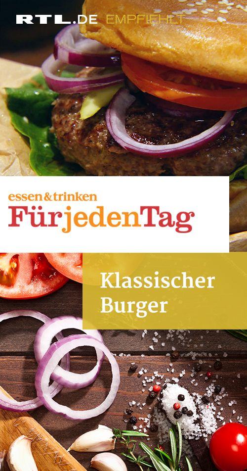 Klassischer Burger