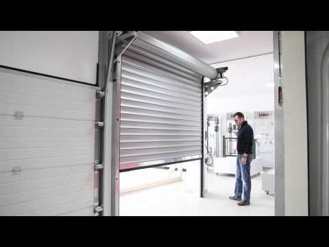Garage Doors Garador R1 Roll A Door Installation Part 2 Youtube
