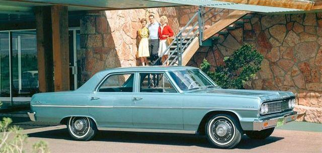 Historia De La 1ª Generacion Del Chevrolet Chevelle Chevrolet