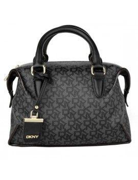 15932ea48 Bolso de piel en color negro de DKNY | Proyectos que intentar ...