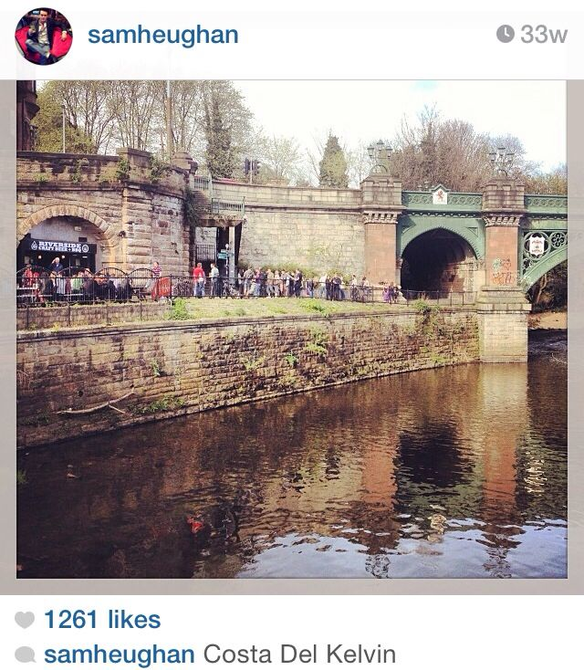 Sam's Instagram - Dec 2014