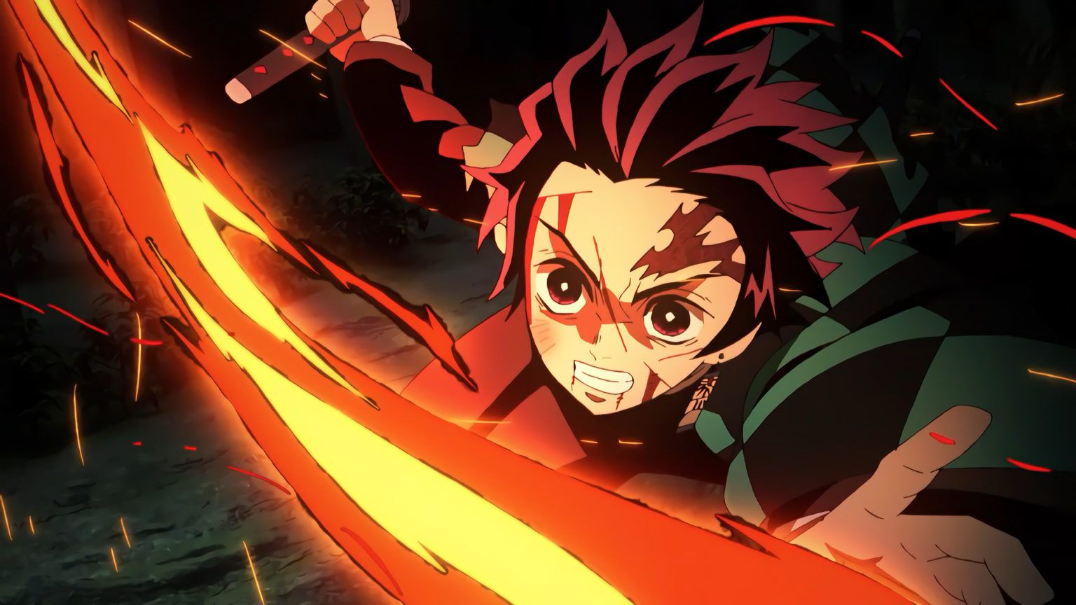 Best Demon Slayer Tanjiro Kamado Hd Wallpaper 2020 In 2020 Digital Art Anime Anime Wallpaper Anime