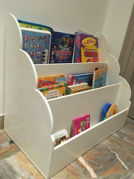 Children's library Style Montessori Bücherregal kinder