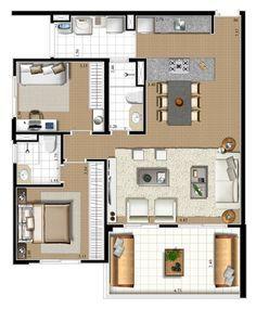Plantas de casas americanas modelos - Planos de casas americanas ...
