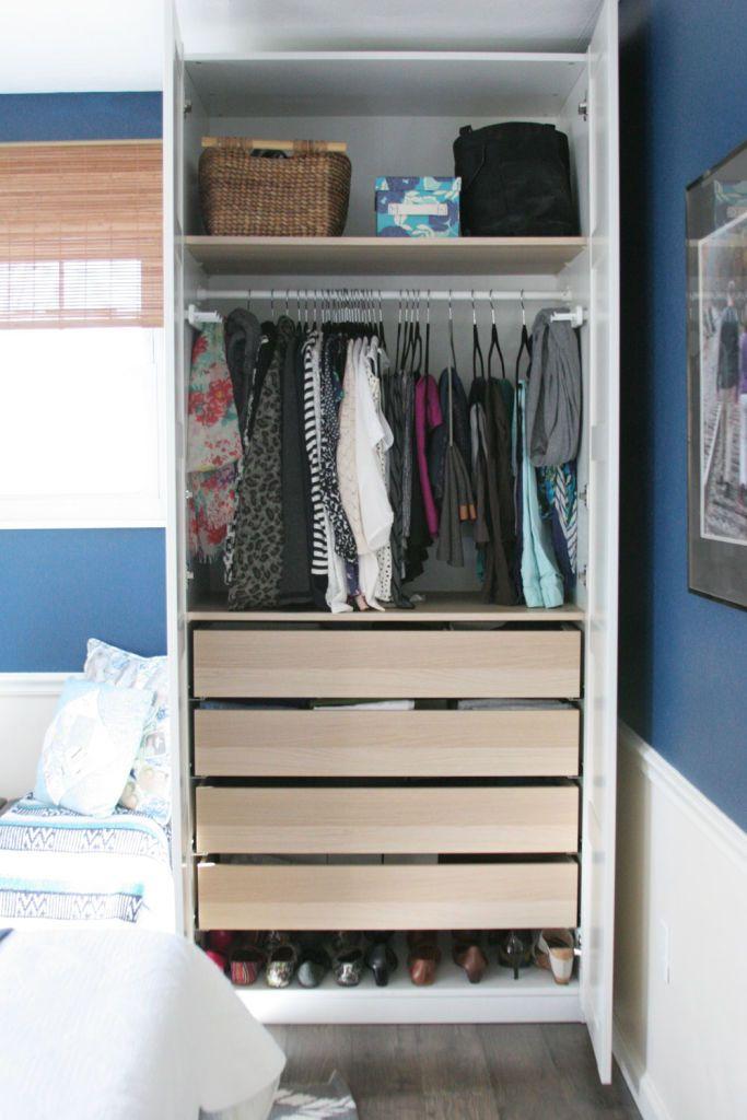 Wardrobe Vs Dresser The Best Small Closet Solutions Small Closet Solutions No Closet Solutions Small Closets