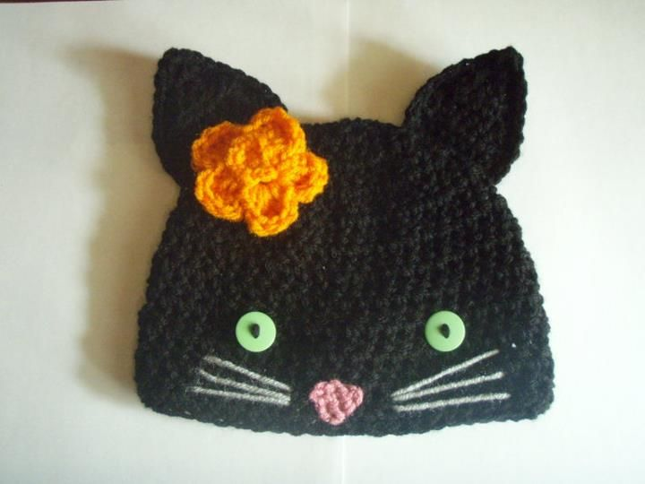 Love this little kitty hat!