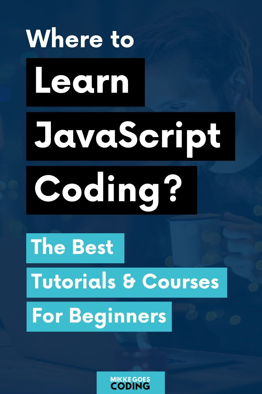 The Best Javascript And Jquery Courses For Beginners Mikke Goes Learn Javascript Learn Web Development Learning Web