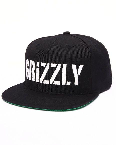 Grizzly Griptape - HD Stamp Logo Snapback Cap  950fce10a6d