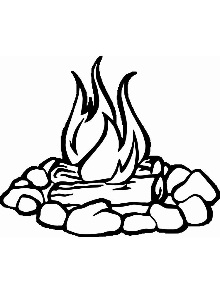 Fire Fighter Coloring Pages Fire Is One Of The Energy Needed By