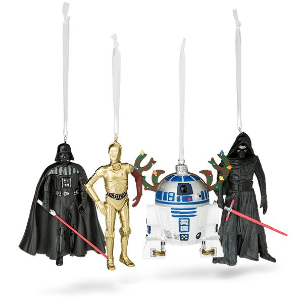 Hallmark Star Wars Special Edition Darth Vader, R2-D2, C-3PO & Kylo Ren  Resin Ornaments - Hallmark Star Wars Special Edition Resin Ornaments Star Wars