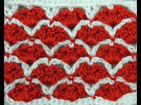 Crochet : Punto Dos Colores # 6 | pontos de crochê 2 | Pinterest ...