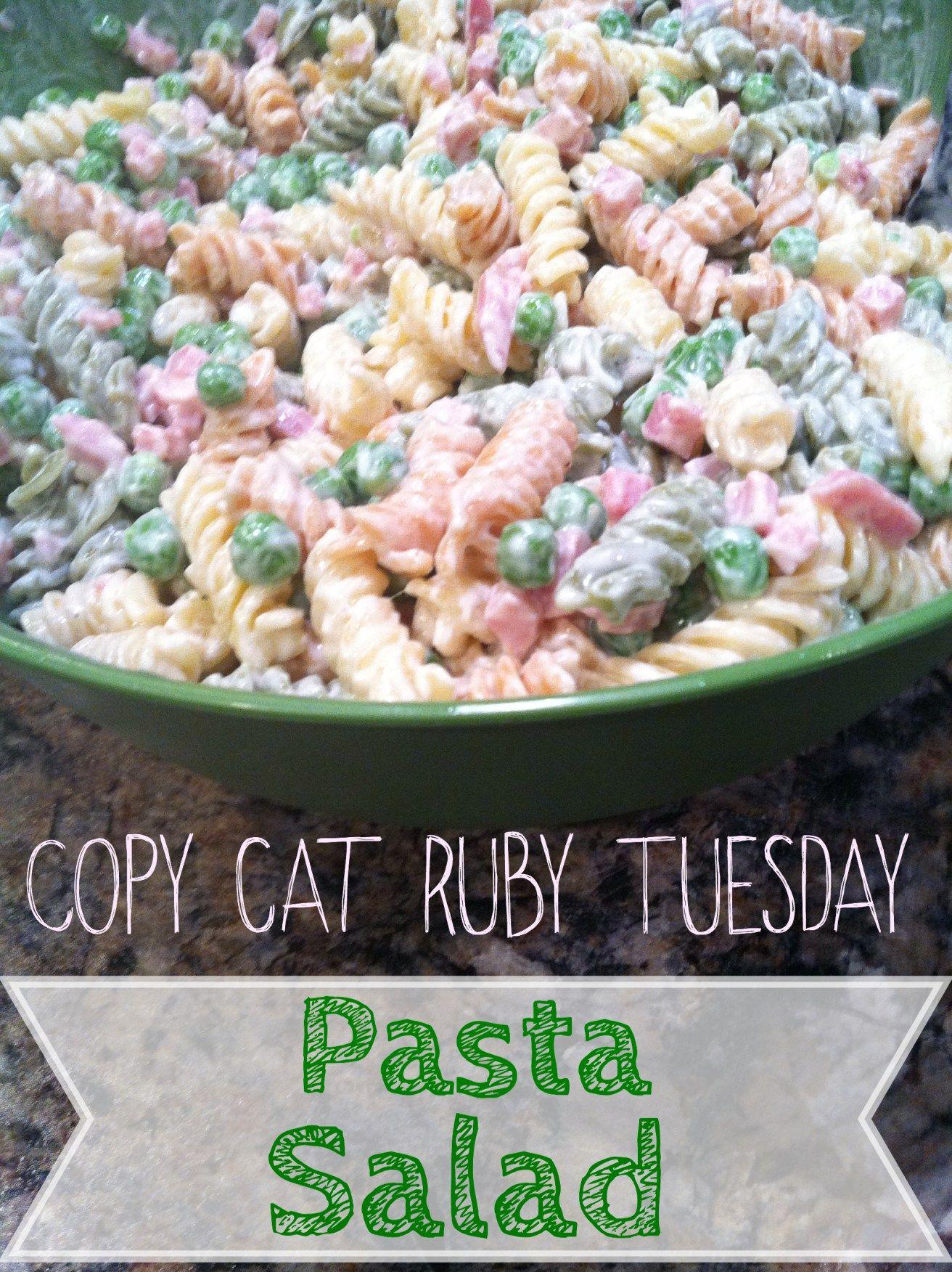 Ruby Tuesday Copycat Pasta Salad