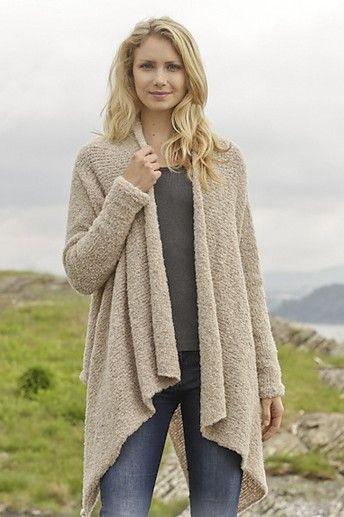 Draped Cardigan Knitting Patterns | Pinterest | Knitting patterns ...
