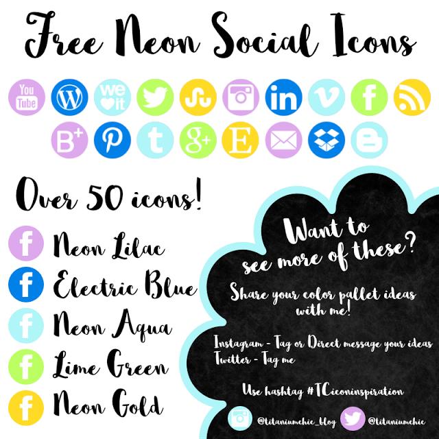 Neon Social Icons Social Icons Icon Neon
