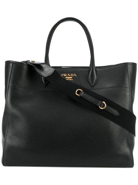 5f9290823469 PRADA classic shopper tote.  prada  bags  shoulder bags  hand bags  leather   tote