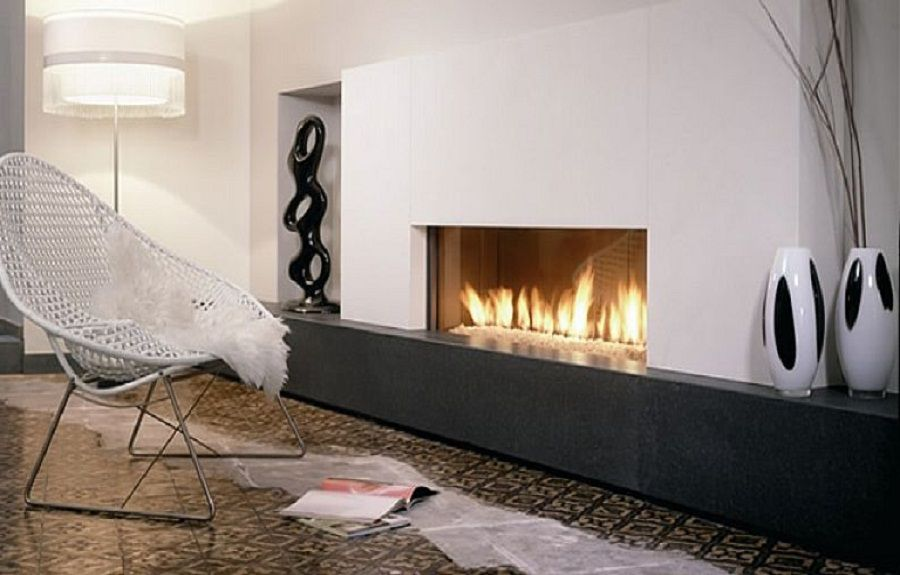 Modern fireplace design ideas on pinterest modern fireplaces contemporary fireplaces and - Build contemporary fireplace ideas ...