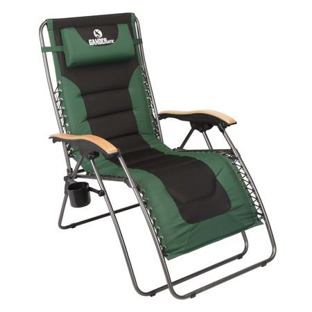 Zero Gravity Chair Oversized Extra Large Padded Seat Home Outdoor