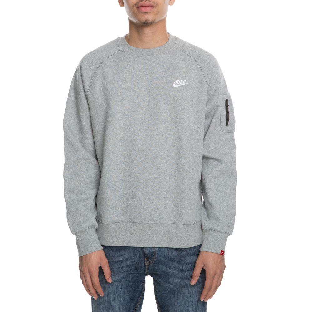 Nike Grey Crew Aw77 Fleece HeatherProducts Neck Dk 8nN0OPymwv