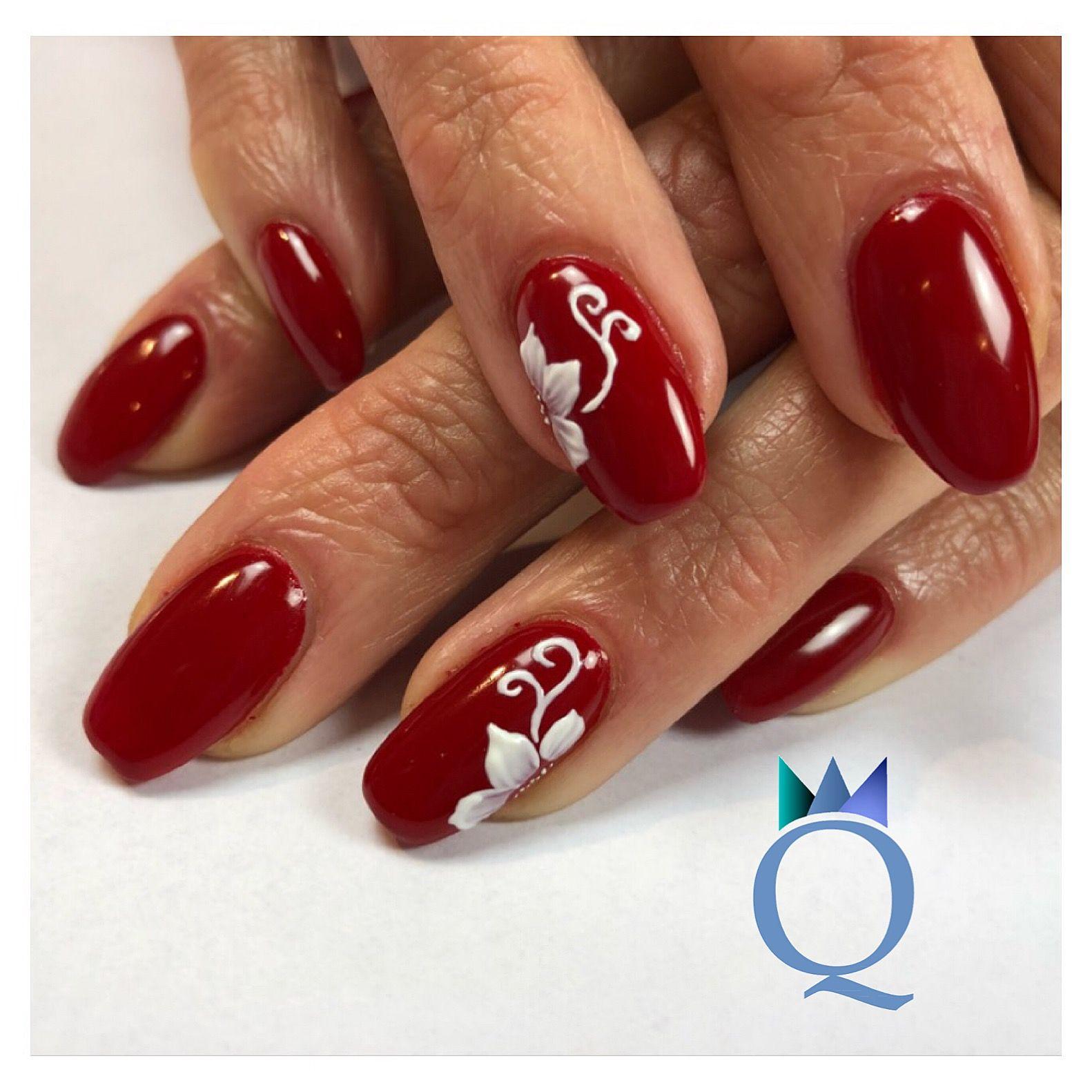 rednails #gelnails #nails #red #rotenägel #gelnägel #nägel #rot ...