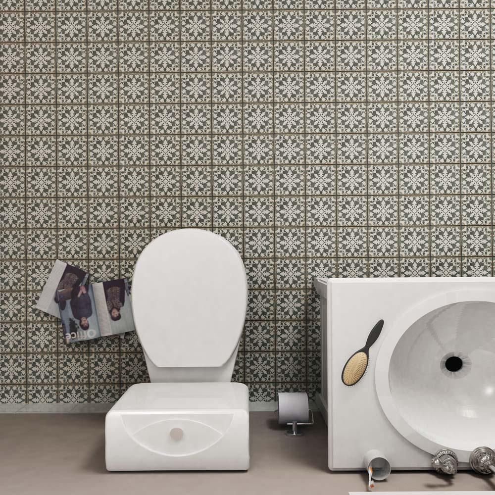 Merola tile archivo zahra 4 78 in x 4 78 in ceramic floor and merola tile archivo zahra 4 78 in x 4 78 in ceramic floor and wall tile 59 sq ft case charcoal grey and sepialow sheen dailygadgetfo Gallery