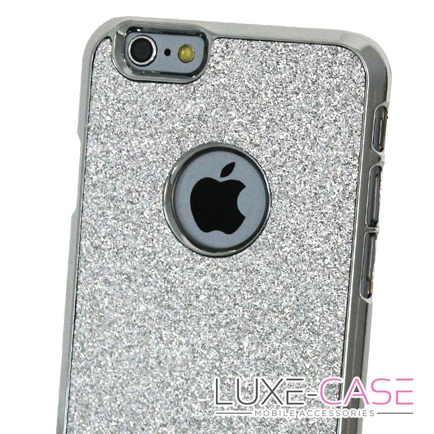 iphone 6 case grey glitter