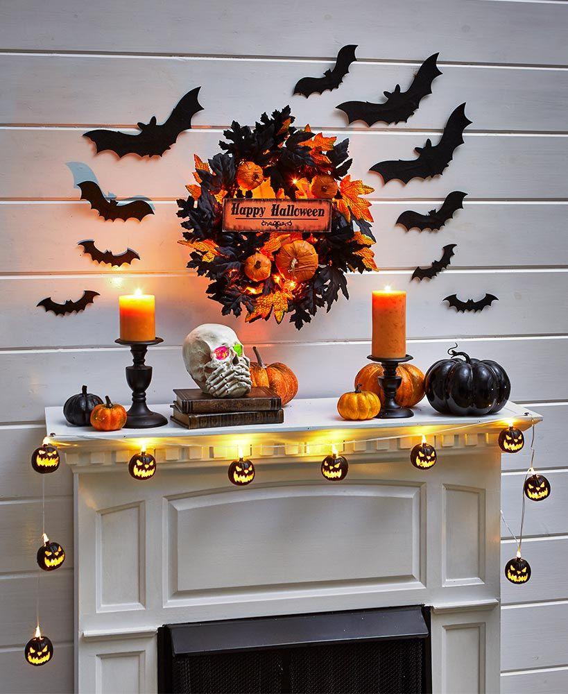 Halloween Mantel Collection in 2020 Halloween mantel