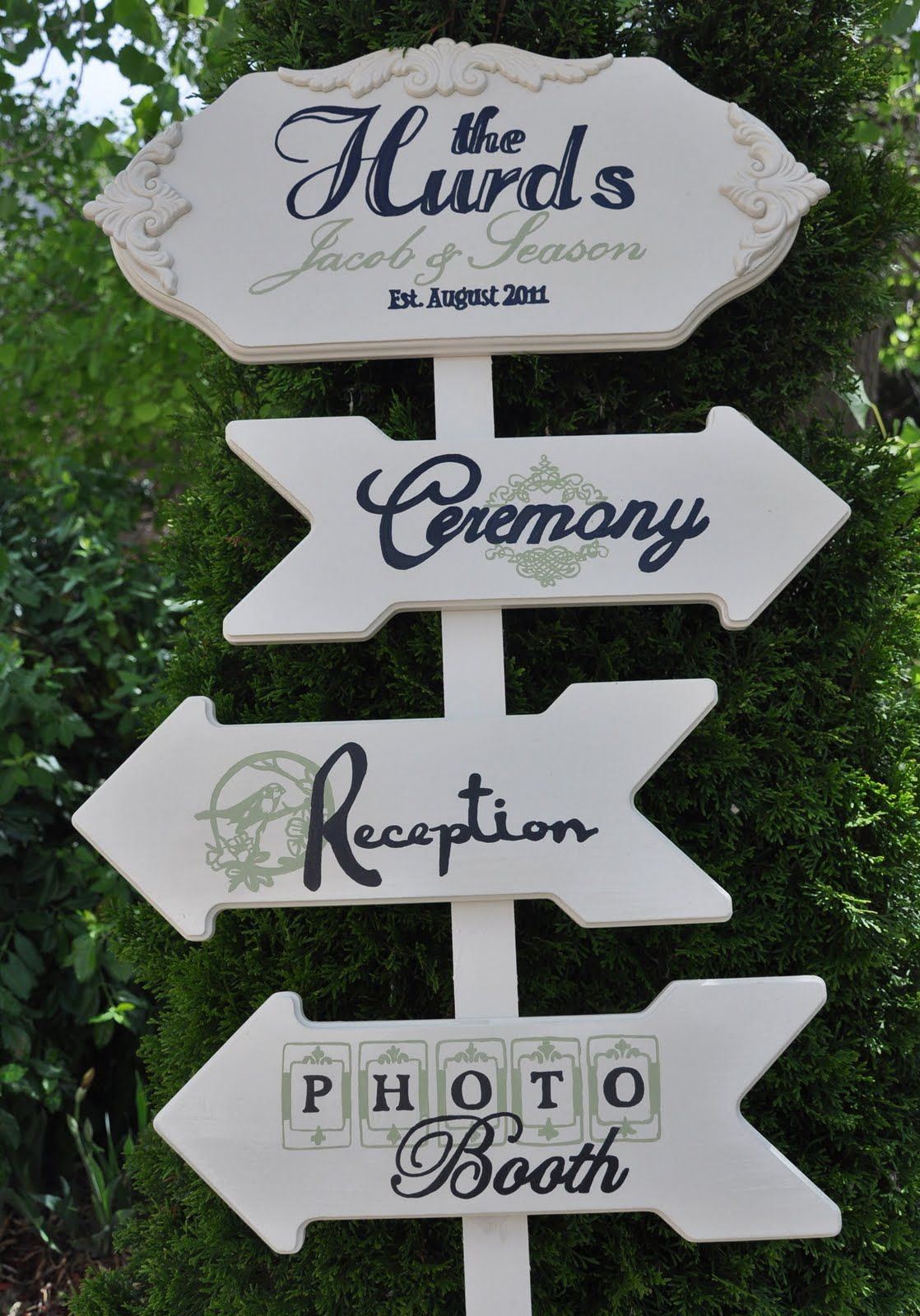 Directional Signage Wedding Direction Signs Diy 02