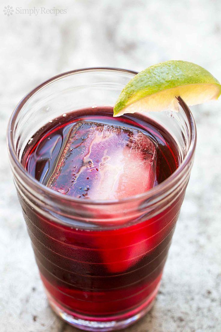 Agua De Jamaica Aka Hibiscus Tea Is An Infusion Of Dried Hibiscus