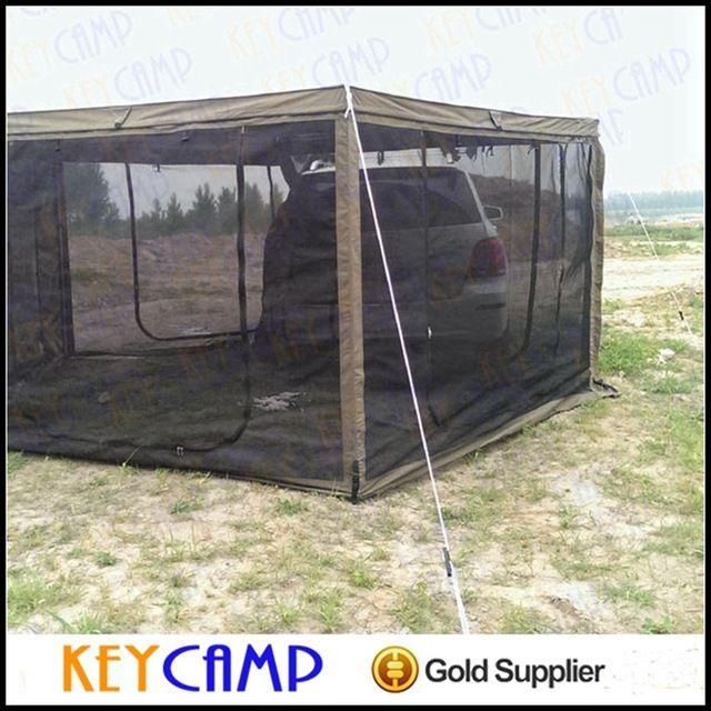 4 x 4 acessório de raposa asa toldo   toldo camping para carros