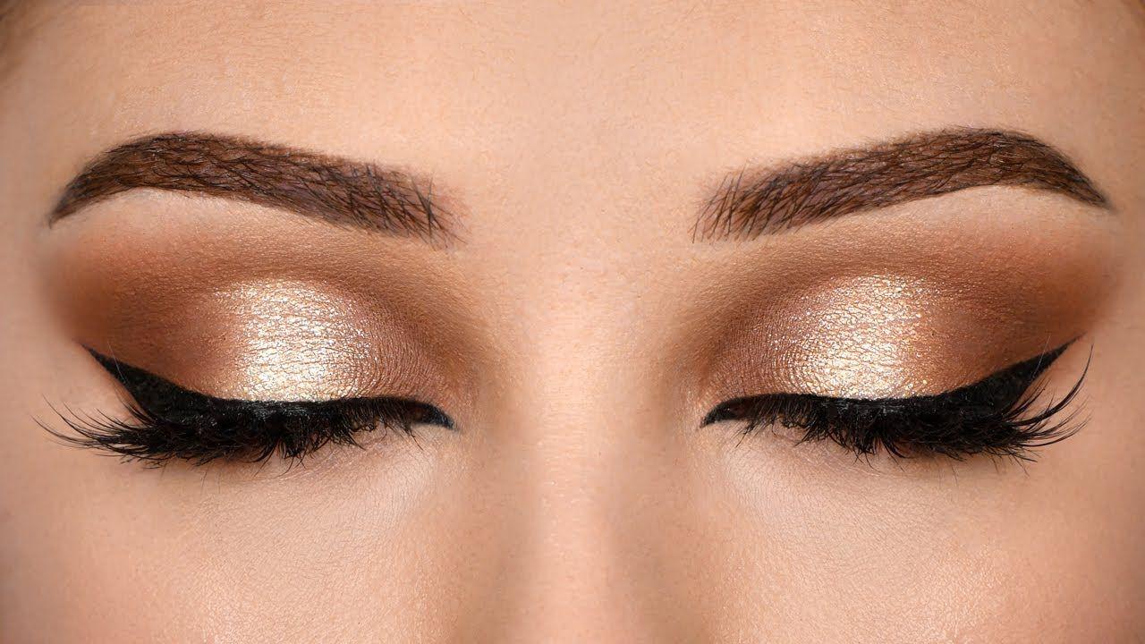 Affordable SOFT BROWN HALO Smokey Eye Makeup Tutorial