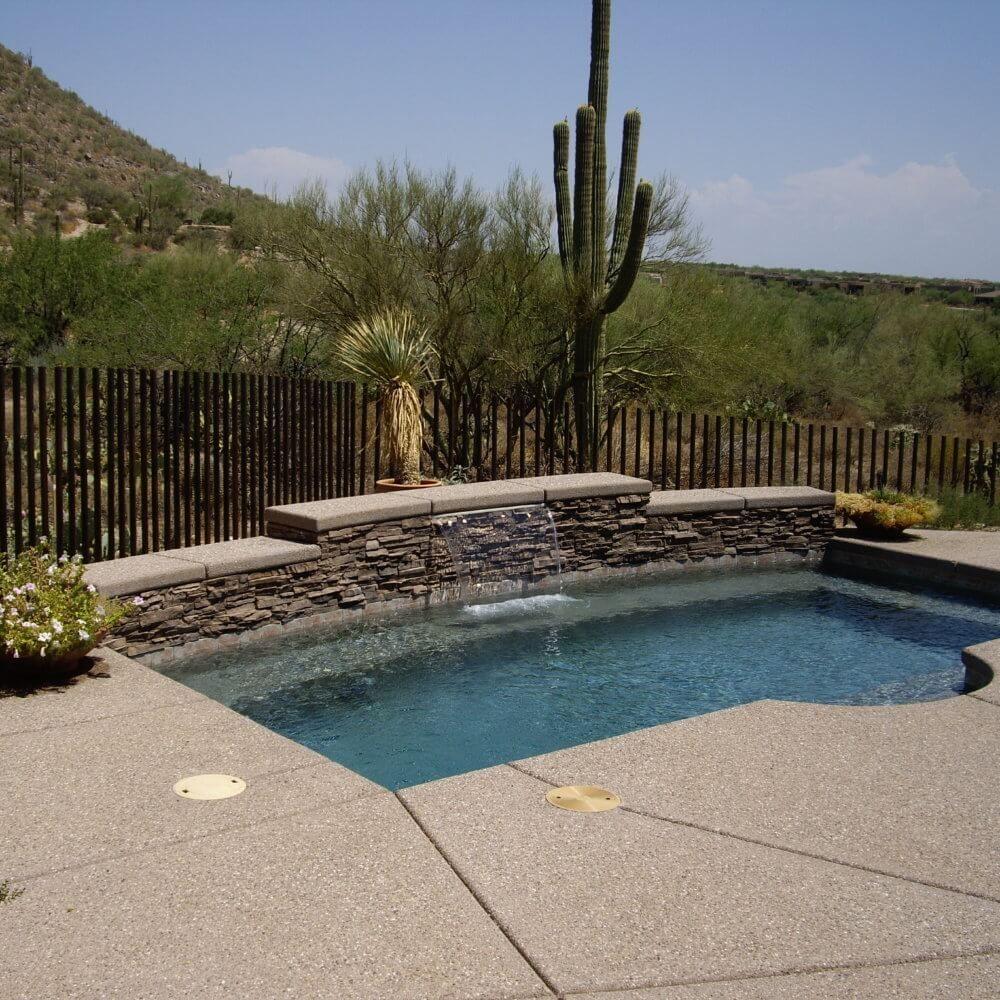 Tucson Pool Landscape Ideas Valley Oasis Pools Pool Landscaping Oasis Pool Cool Pools