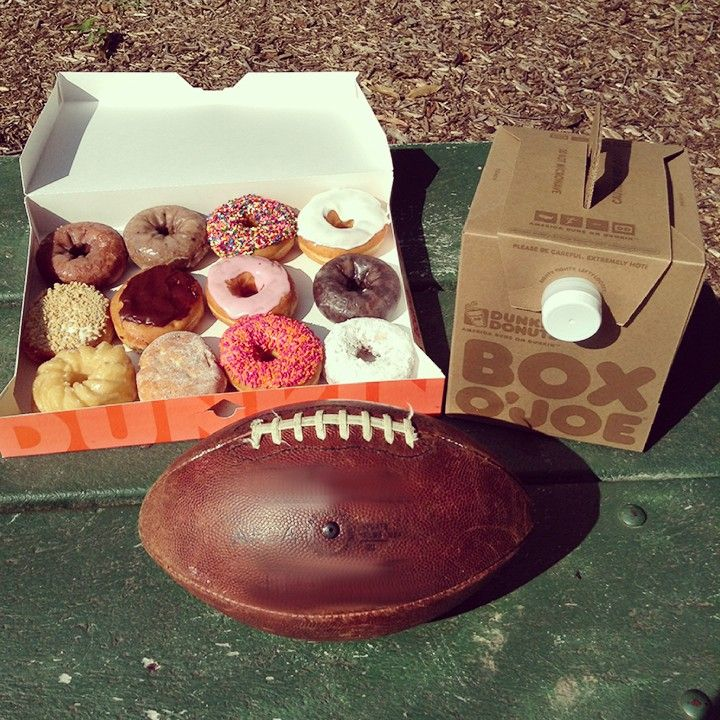 We're bringing Dunkin' to the tailgate!