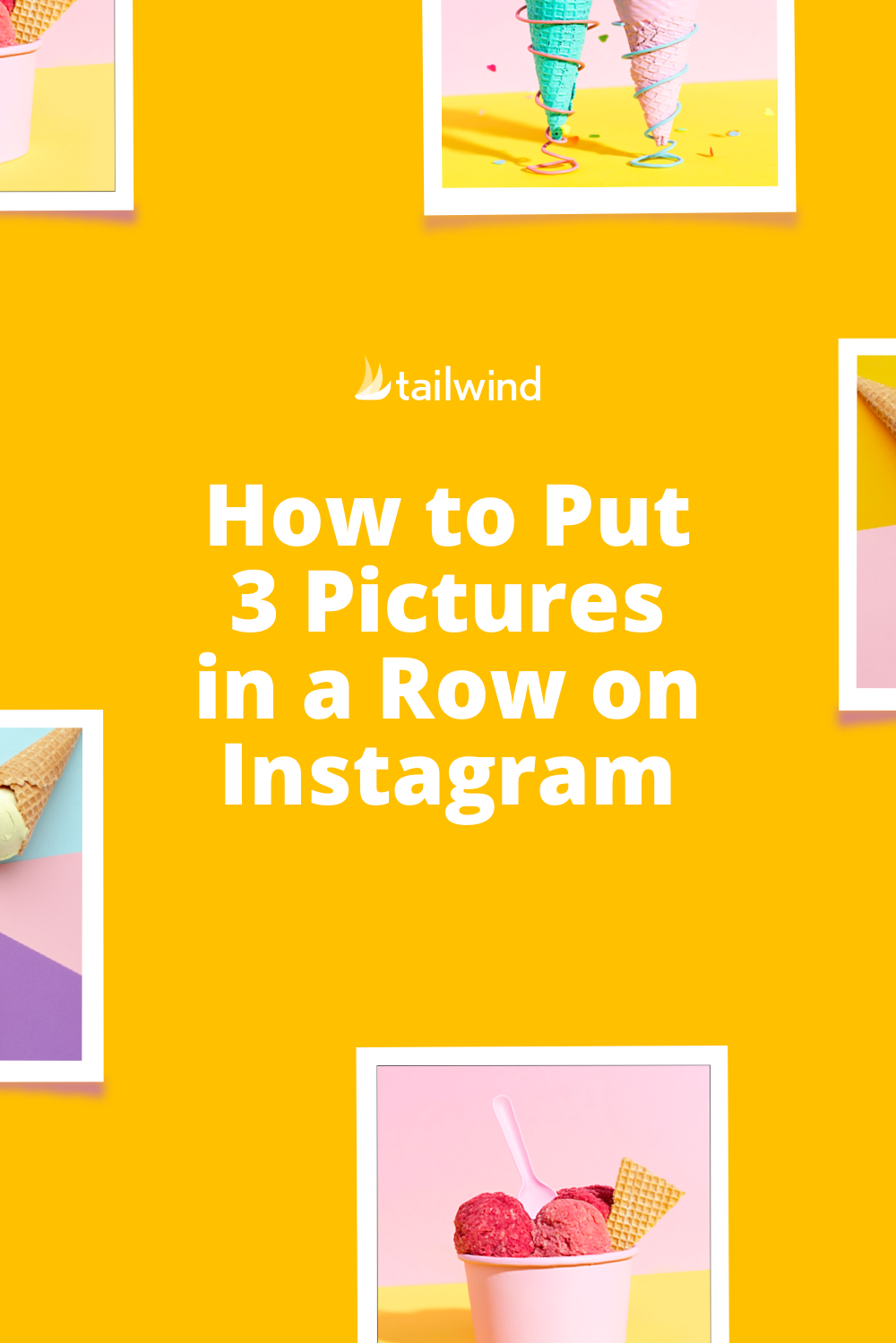 How To Put Three Pictures In A Row On Instagram Tips Tutorial Email Marketing Design Inspiration Instagram Tutorial Instagram Grid